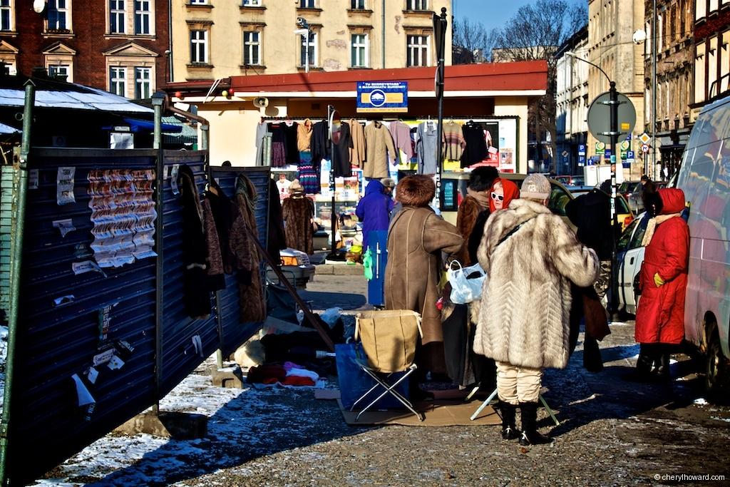 Plac Nowy Jewish Market - Winter Fashion