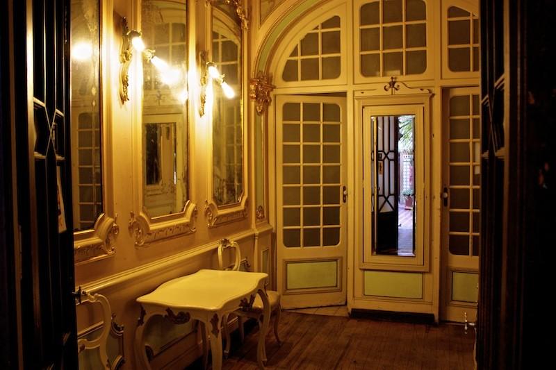 Restaurant Casa do Alentjo Lisbon Hallway