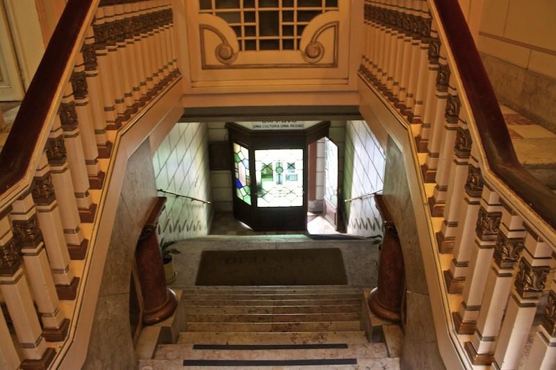 Restaurant Casa do Alentjo Lisbon Stairs Inside