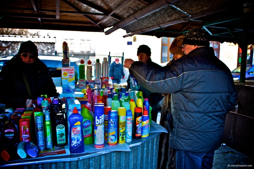 The Plac Nowy Jewish Market - Cleaning Products