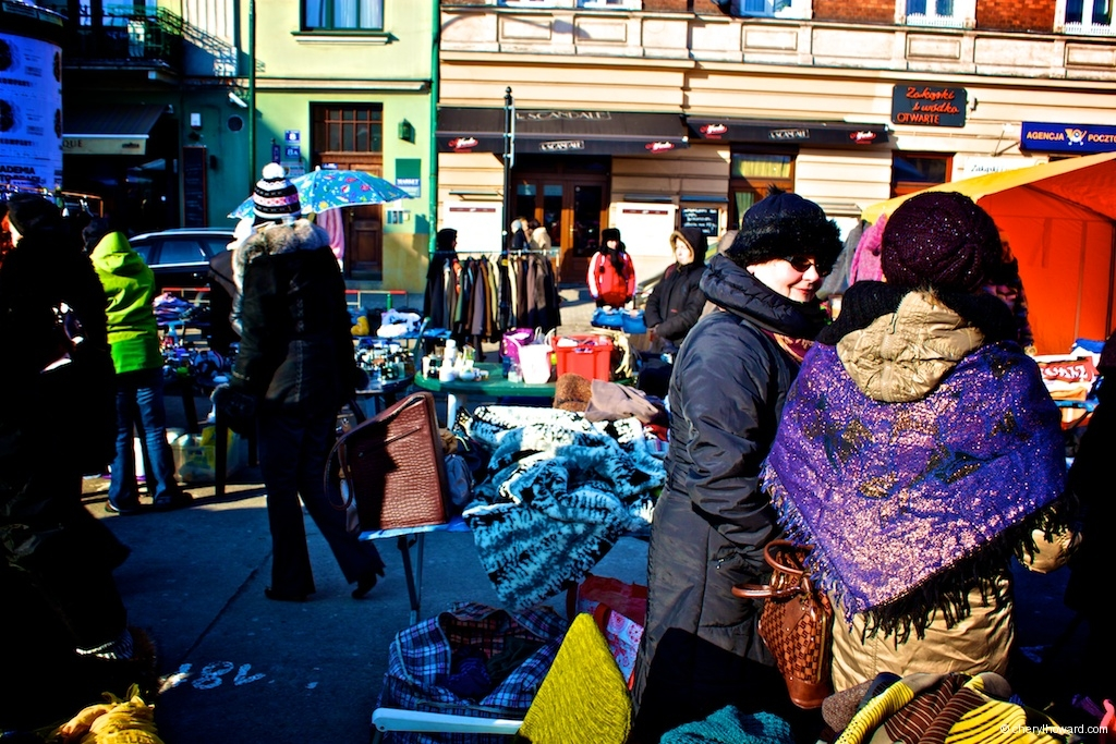 The Plac Nowy Jewish Market - Ladies Chatting