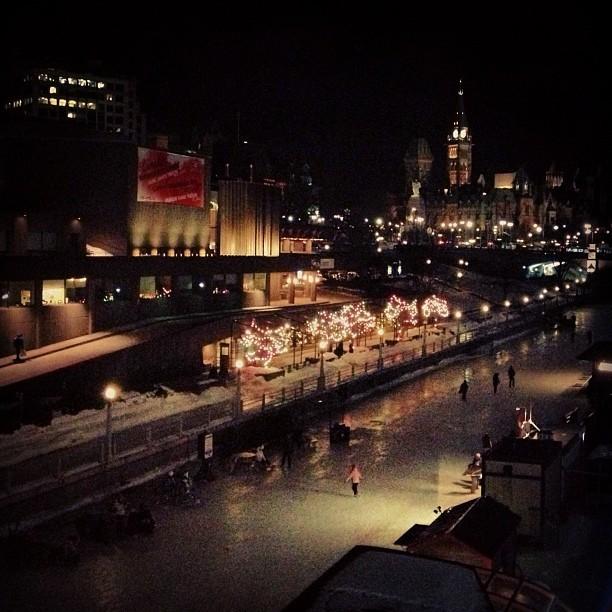 Weekend In Ottawa - Parliament At Night