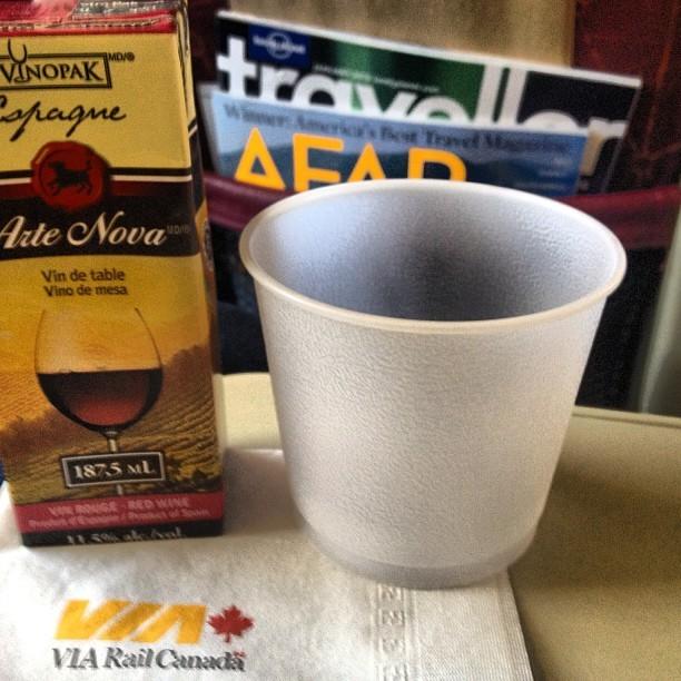 Weekend In Ottawa - Train Journey Coffee