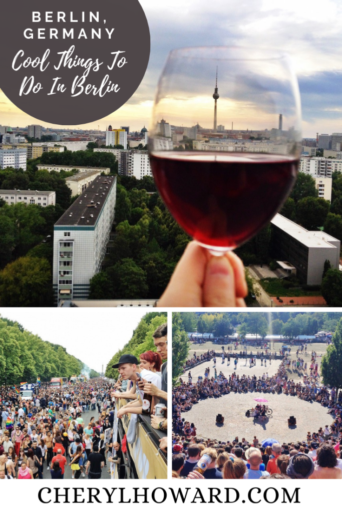 Cool Things to Do in Berlin - Pin