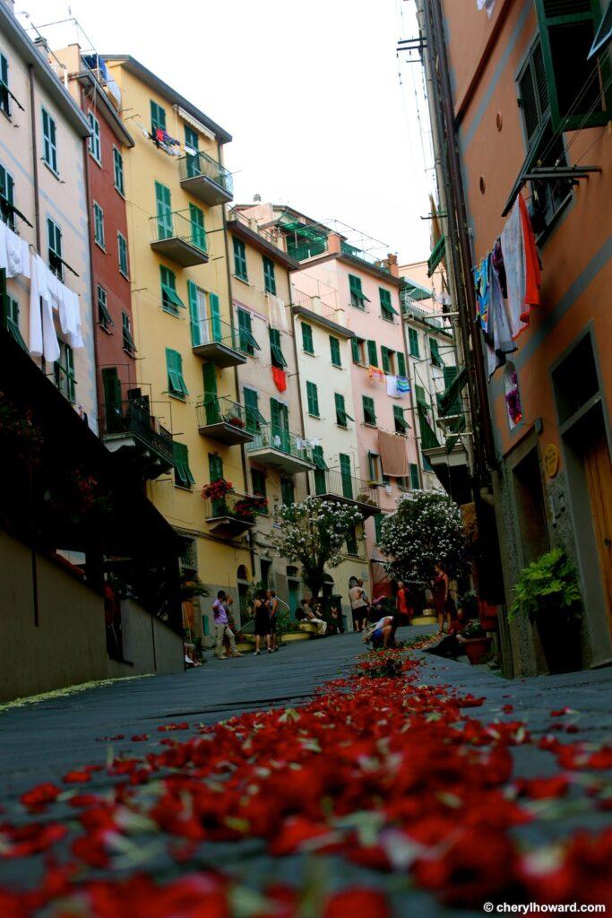 The Day Of San Giovanni Battista In Riomaggiore, Italy