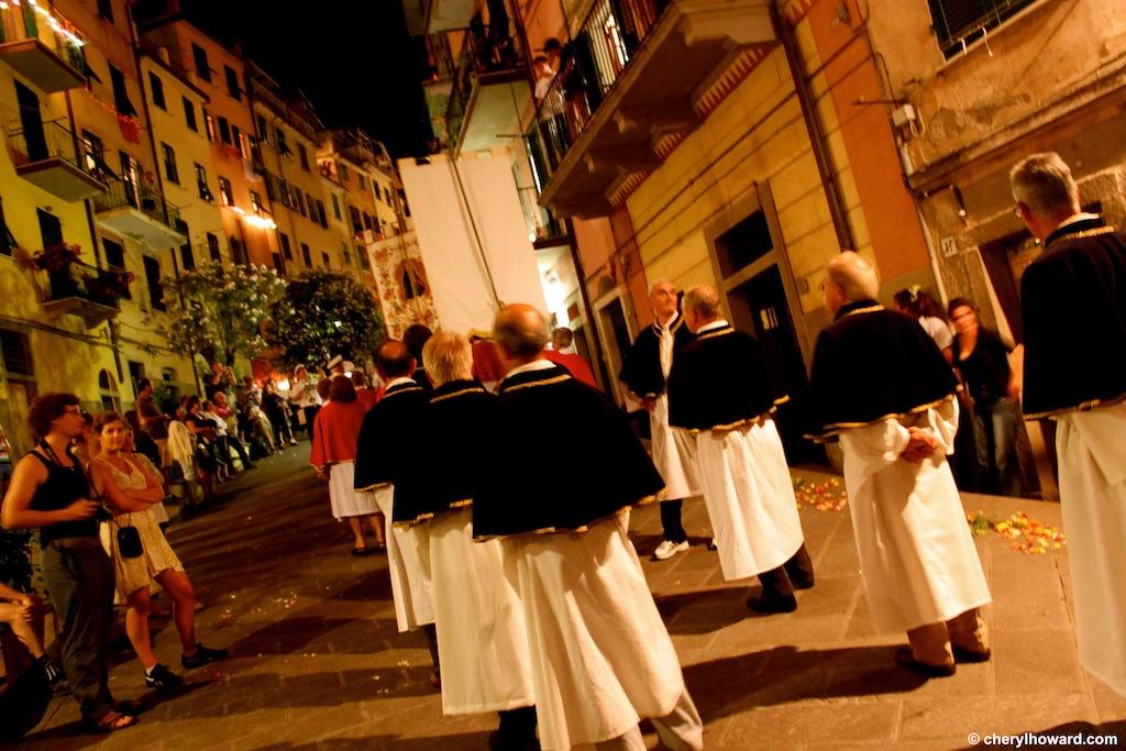 The Day Of San Giovanni Battista In Riomaggiore Priests