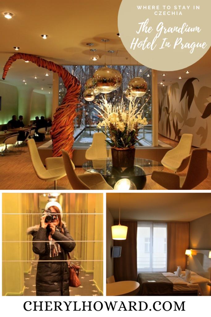 The Grandium Hotel In Prague - Pin