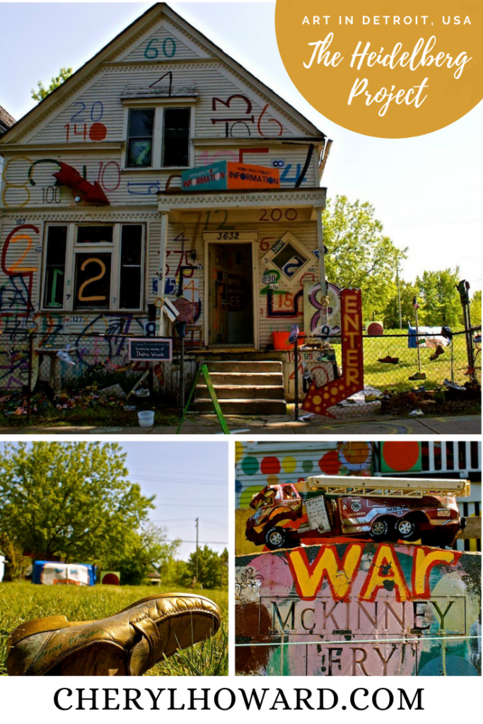 The Heidelberg Project In Detroit - Pin