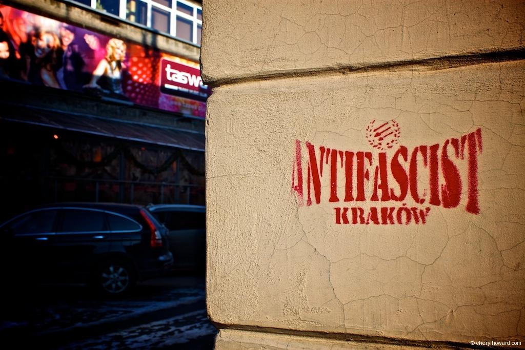 Anti Fascist Street Art