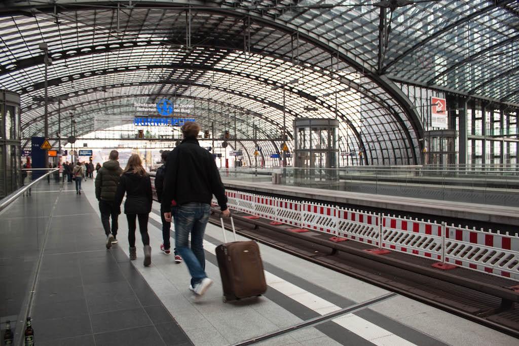 Berlin Sunday - Hauptbahnhof