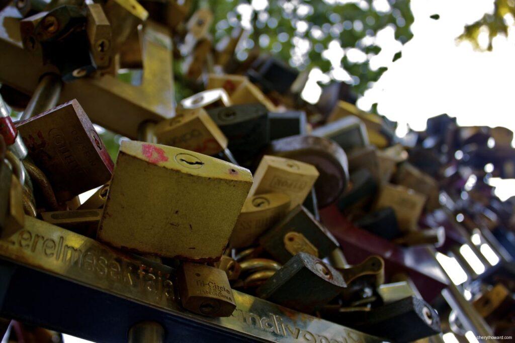 Budapest Love Locks Are Cute