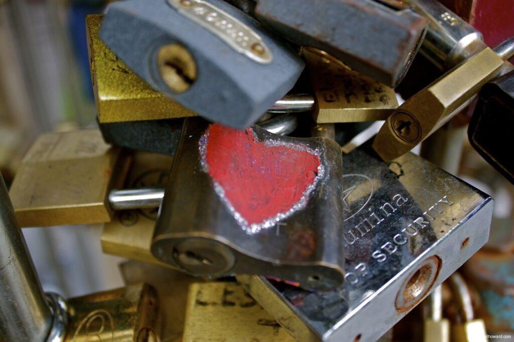 Budapest Love Locks True Love