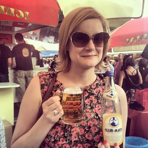 Cheryl Howard Berlin Beer Festival