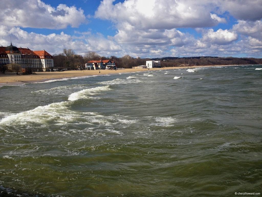 Choppy Baltic Sea