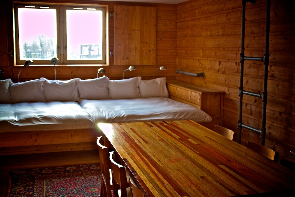 Lloyd Hotel Amsterdam - Bed Sleeps Eight People