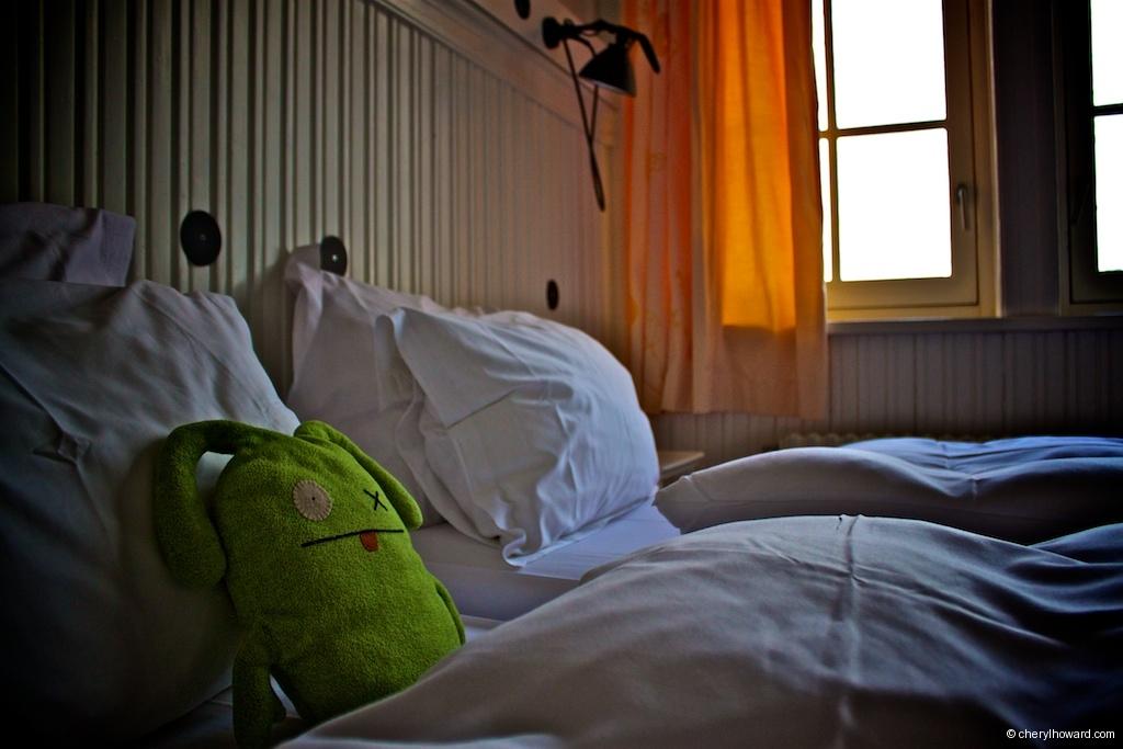 Lloyd Hotel Amsterdam - One Star Room Bed