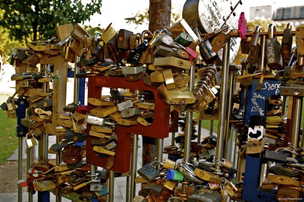 Love Locks On A Tree