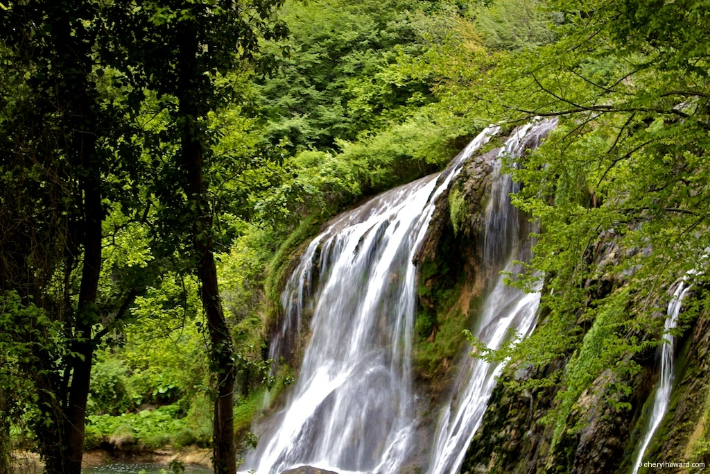 Marmore Waterfalls Italy Beauty
