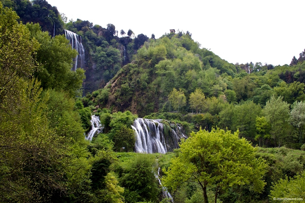 Marmore Waterfalls Italy Low Flow