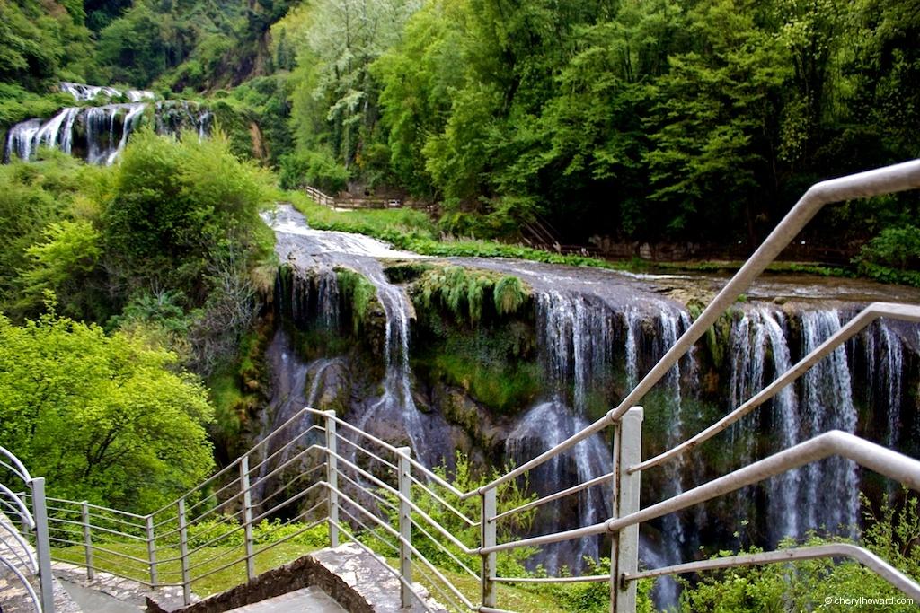 Marmore Waterfalls Path