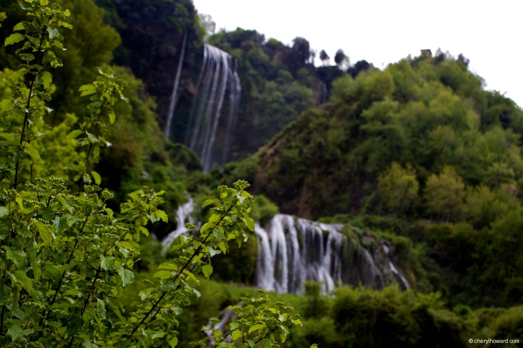 Marmore Waterfalls Slow Flow