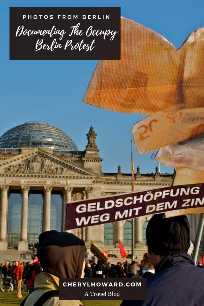 Occupy Berlin Protest - Pin