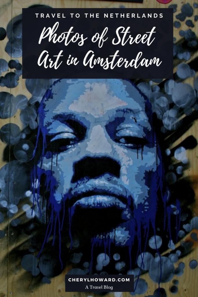 Photos Of Street Art In Amsterdam - Pin