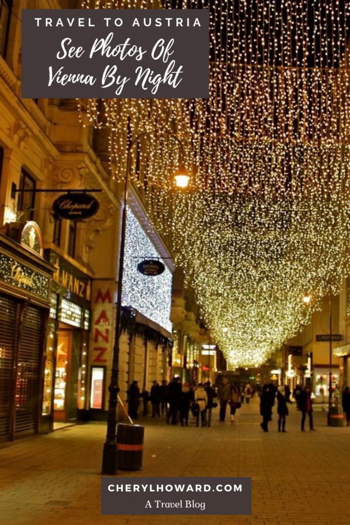 Photos Of Vienna By Night - Pin