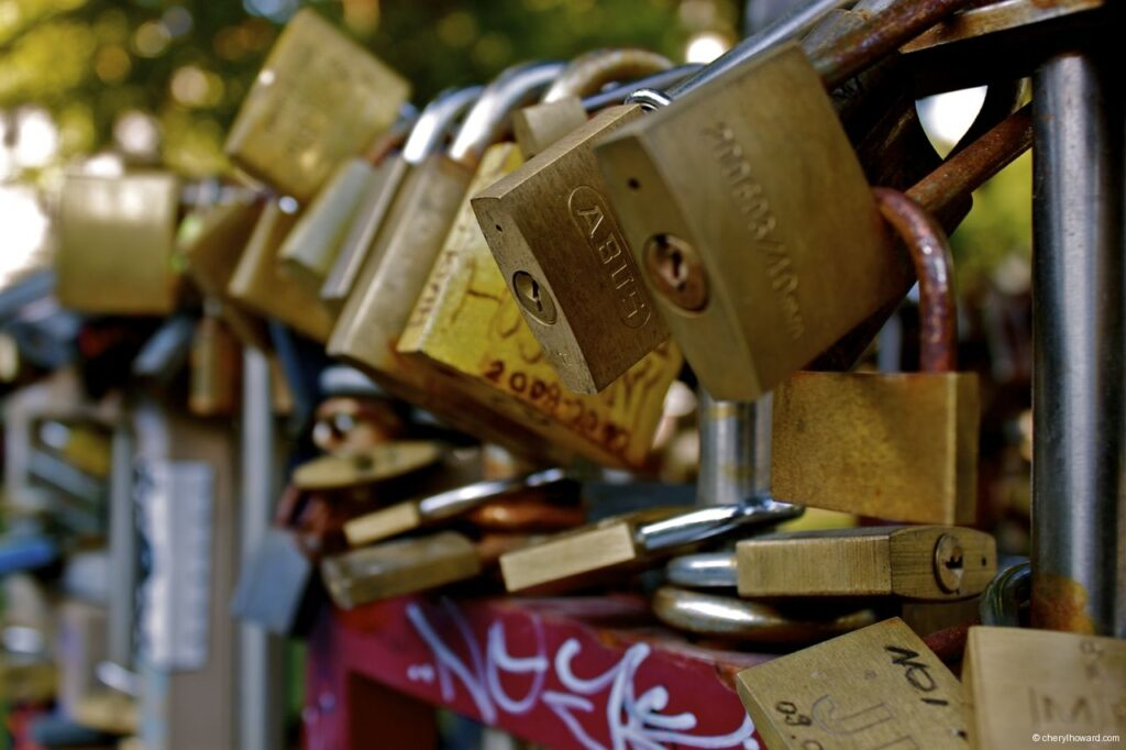 So Many Budapest Love Locks