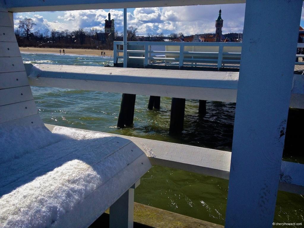 Sopot Poland Bench Pier
