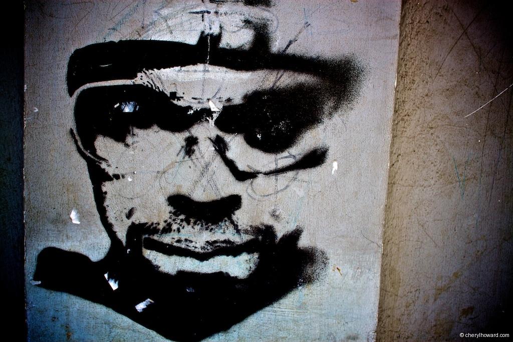 Street Art In Krakow - Face