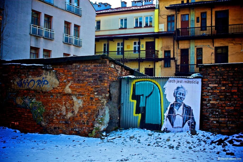 Street Art In Krakow - Jewish QuarterStreet Art In Krakow - Jewish Quarter