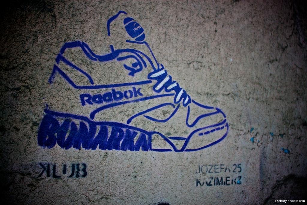 Street Art In Krakow - Reebok