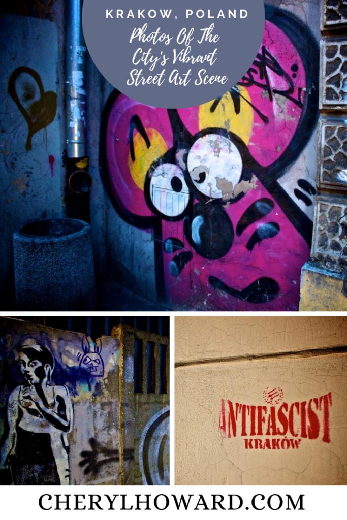 Street Art Krakow - Pin