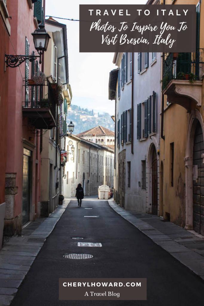 Streets Of Brescia - Pin