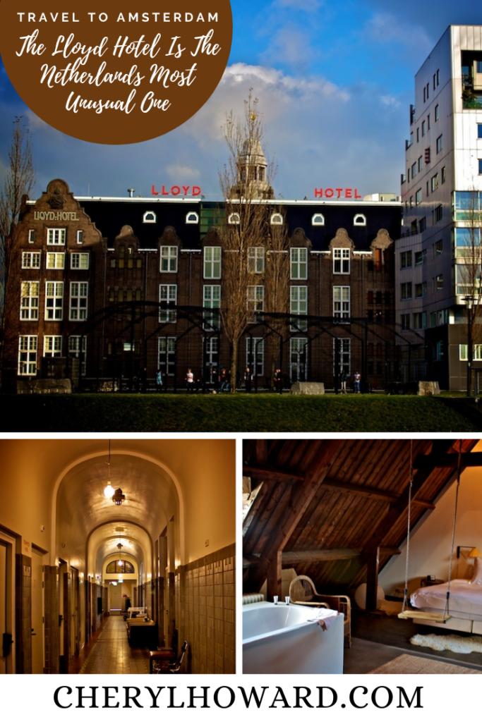 The Lloyd Hotel In Amsterdam - Pin