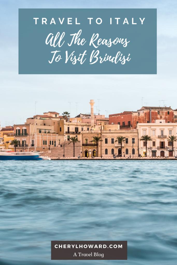Visit Brindisi - Pin