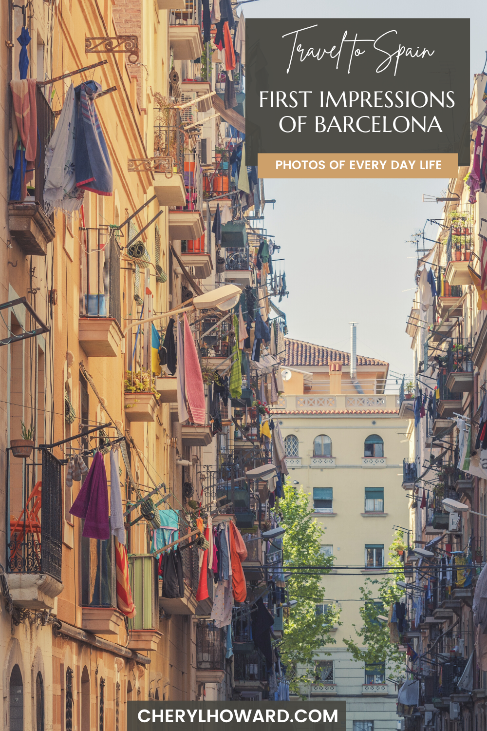 Barcelona In Pictures - Pin