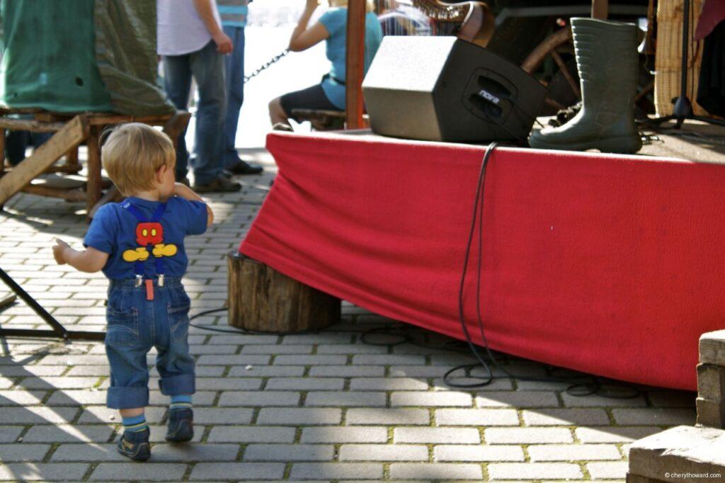Hanse Sail In Rostock Market - Little Boy
