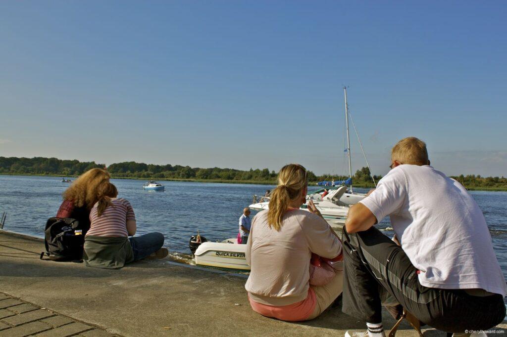 Hanse Sail In Rostock Market - People