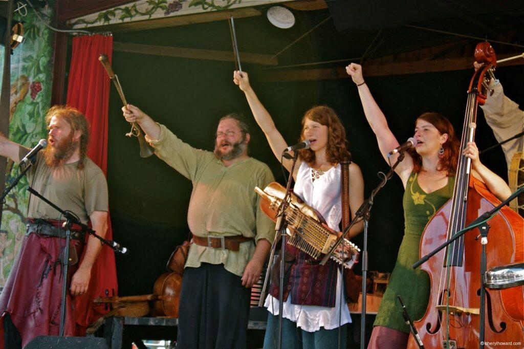 Hanse Sail In Rostock Market - Viking Band