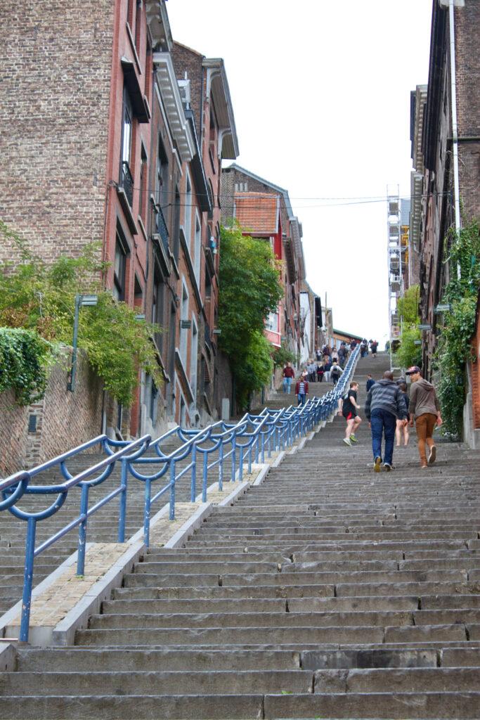 Montagne De Bueren Stairs Fitness