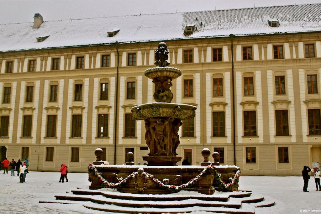 Prague Castle Fountains