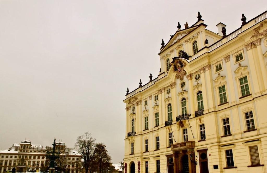 Prague Castle Yellow