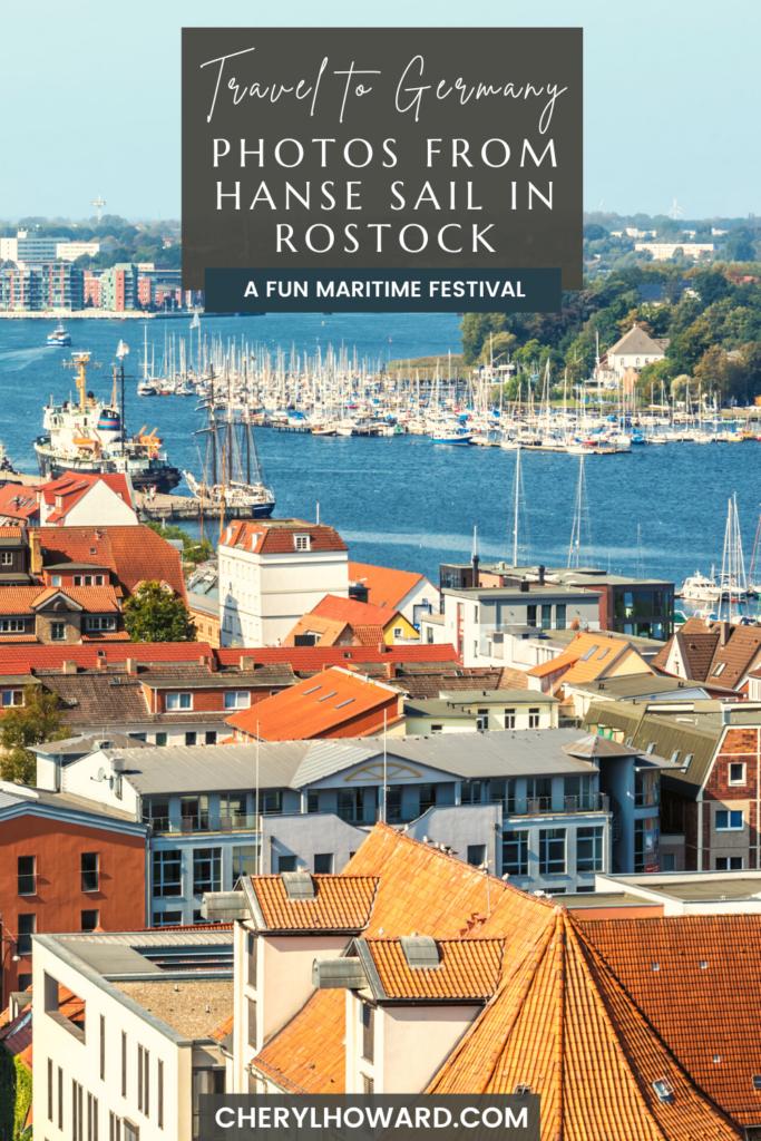 Rostock Hanse Sail - Pin
