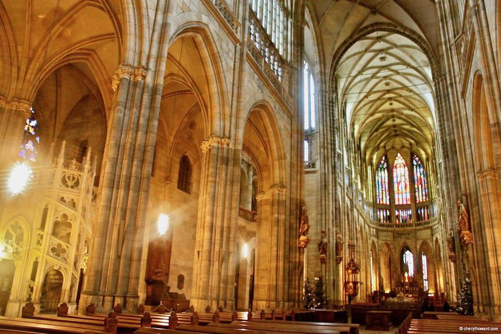 St Vitus Interior Prague
