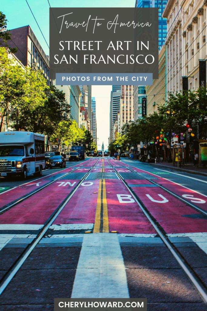 Street Art In San Francisco - Pin