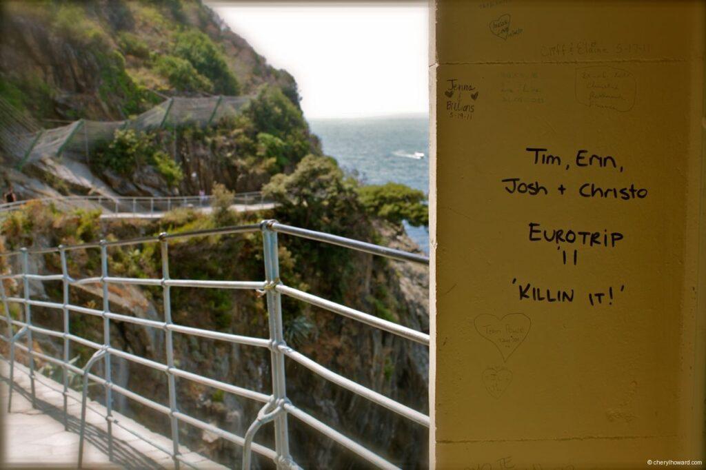 Via dell'Amore (Way of Love) - Killing It Note