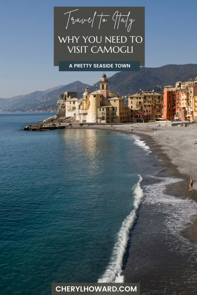 Visit Camogli Italy - Pin