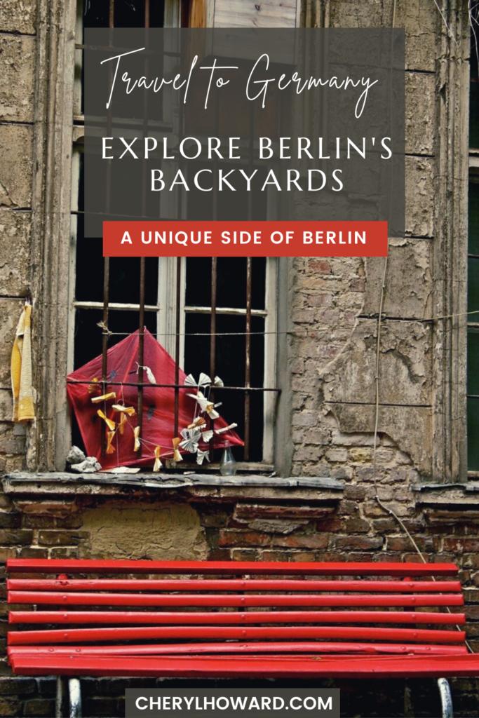 Berlin Hinterhöfe - Pin